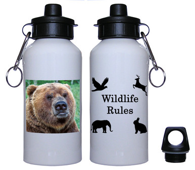 Bear Aluminum Water Bottle