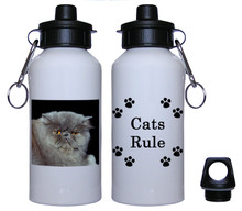 Persian Cat Aluminum Water Bottle