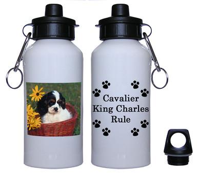 Cavalier King Charles Aluminum Water Bottle