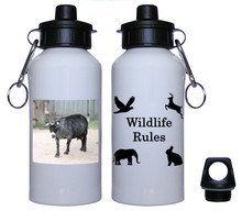 Goat Aluminum Water Bottle