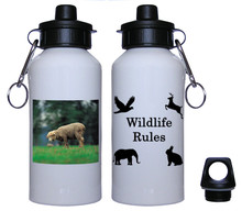 Sheep Aluminum Water Bottle