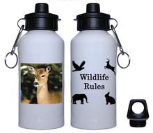 Deer Aluminum Water Bottle
