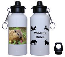 Groundhog Aluminum Water Bottle
