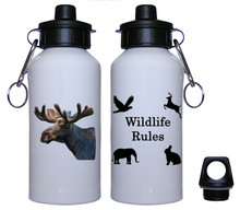 Moose Aluminum Water Bottle