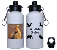 Mountain Goat Aluminum Water Bottle