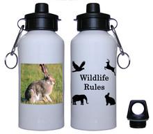 Rabbit Aluminum Water Bottle