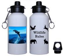 Dolphin Aluminum Water Bottle