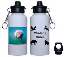 Manatee Aluminum Water Bottle