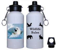 Seal Aluminum Water Bottle