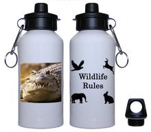 Alligator Aluminum Water Bottle