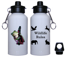 Tree Frog Aluminum Water Bottle