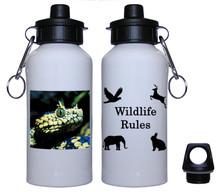 Viper Snake Aluminum Water Bottle