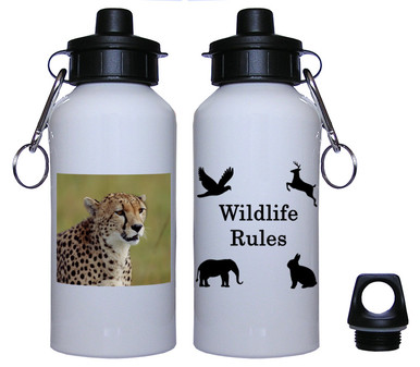 Cheetah Aluminum Water Bottle