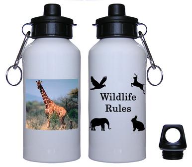 Giraffe Aluminum Water Bottle