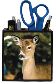 Deer Wooden Pencil Holder