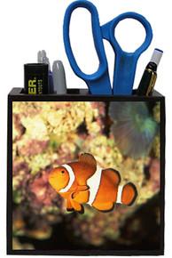 Clownfish Wooden Pencil Holder