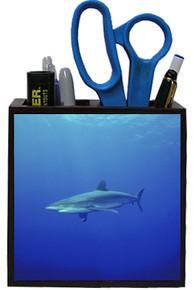 Shark Wooden Pencil Holder