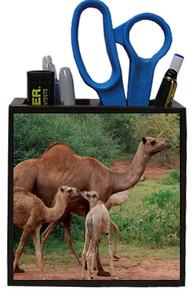 Camel Wooden Pencil Holder