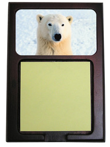 Polar Bear Wooden Sticky Note Holder