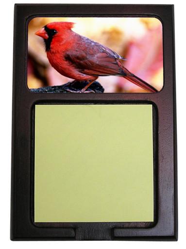 Cardinal Wooden Sticky Note Holder