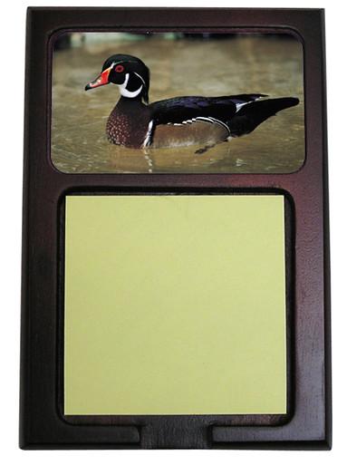 Duck Wooden Sticky Note Holder