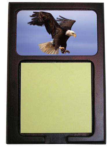 Eagle Wooden Sticky Note Holder