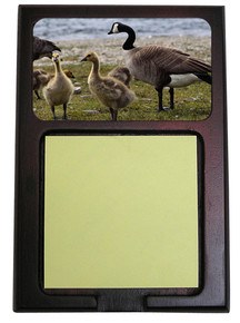 Geese Wooden Sticky Note Holder