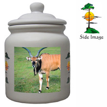 Eland Ceramic Color Cookie Jar