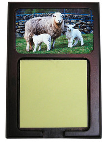Lamb Wooden Sticky Note Holder