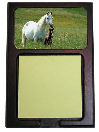 Horse Wooden Sticky Note Holder