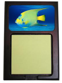Angelfish Wooden Sticky Note Holder