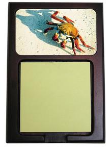 Crab Wooden Sticky Note Holder