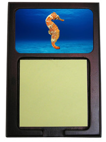 Seahorse Wooden Sticky Note Holder