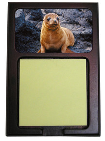 Sea Lion Wooden Sticky Note Holder