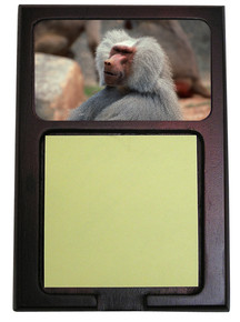 Baboon Wooden Sticky Note Holder