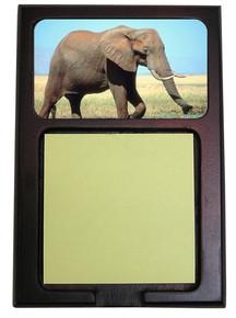 Elephant Wooden Sticky Note Holder