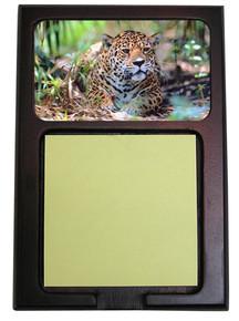 Jaguar Wooden Sticky Note Holder