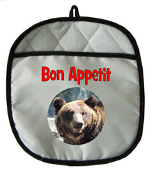 Bear Pot Holder