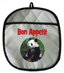 Panda Bear Pot Holder