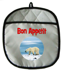 Polar Bear Pot Holder