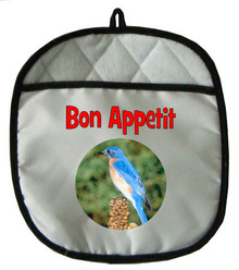 Bluebird Pot Holder