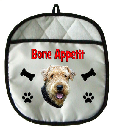 Airedale Pot Holder