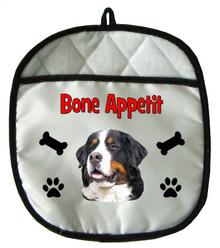 Bernese Mountain Dog Pot Holder