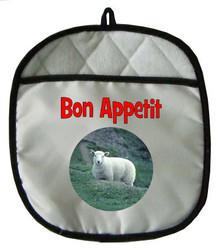 Sheep Pot Holder