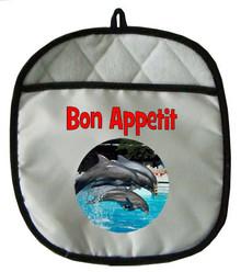Dolphin Pot Holder