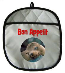Sea Lion Pot Holder