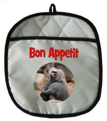 Baboon Pot Holder