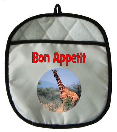 Giraffe Pot Holder