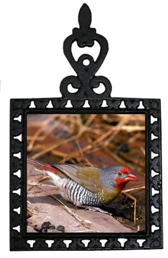 Finch Iron Trivet