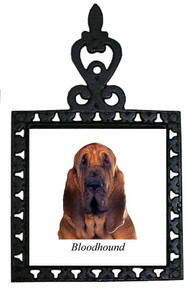 Bloodhound Iron Trivet